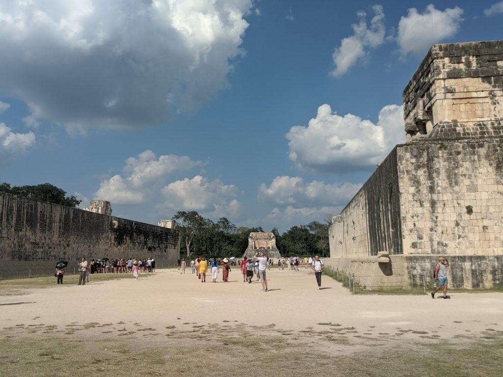 The Great Ball Court - Chichen Itza